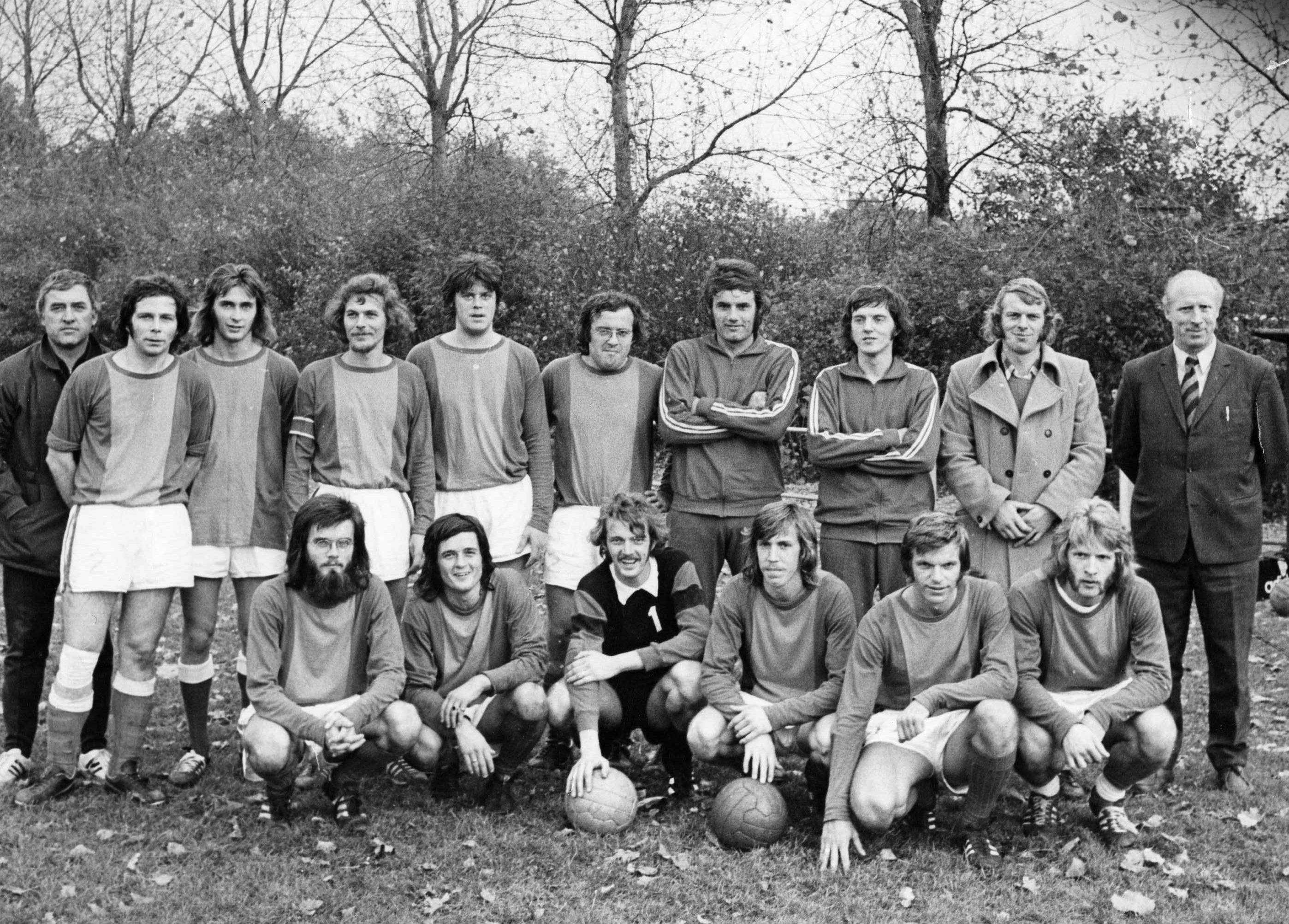 1e elftal Flamingo's 1974-1975
