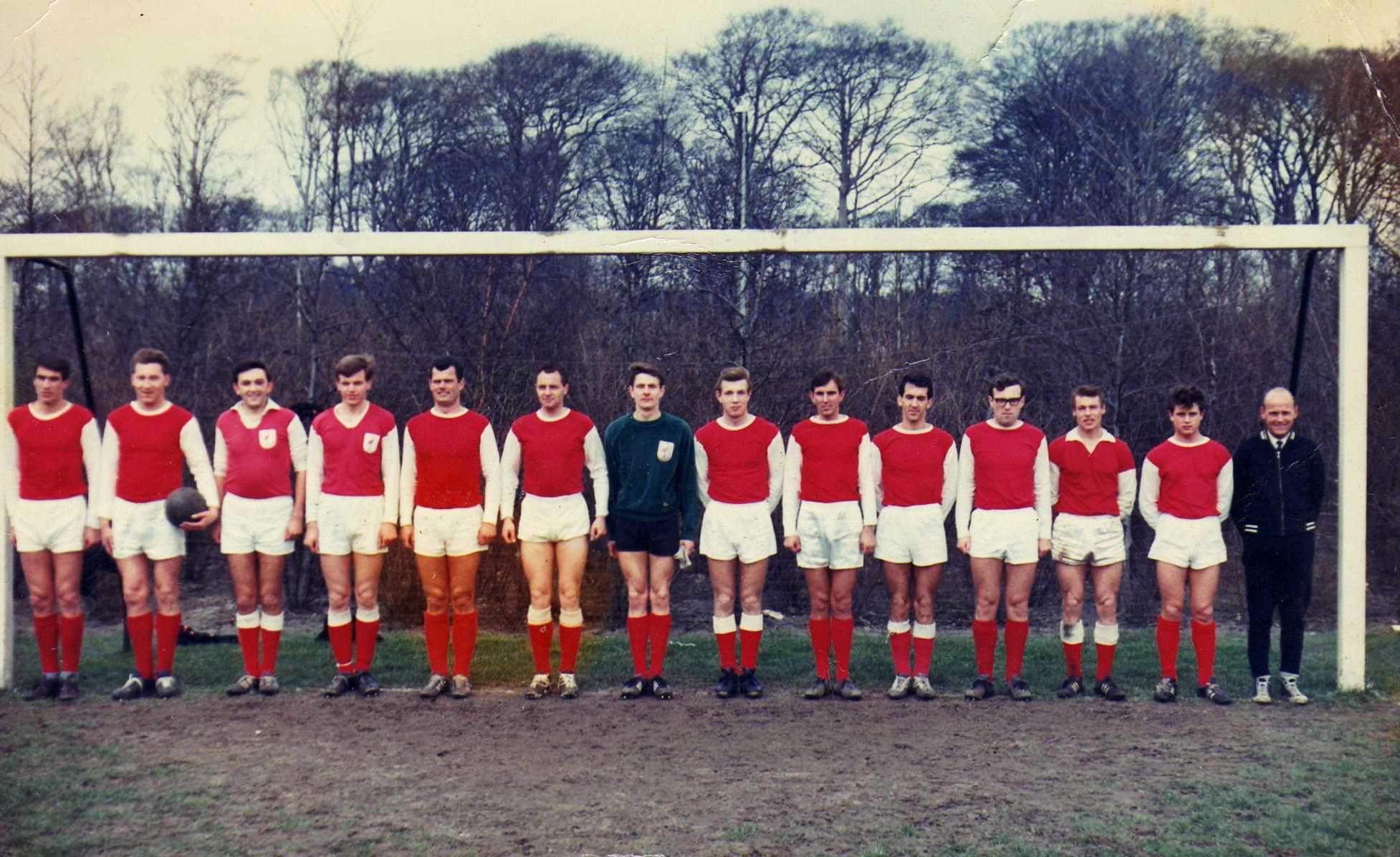 1e elftal Flamingo's kampioen 1966-1967