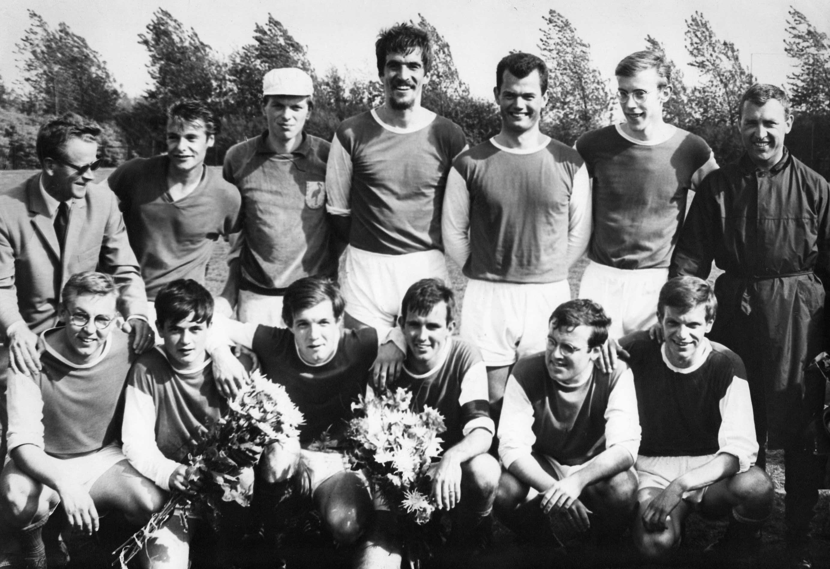 1e elftal Flamingo's kampioen 1967-1968
