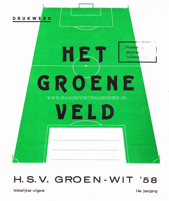 Groen Wit 58 krantje 1972 - kopie