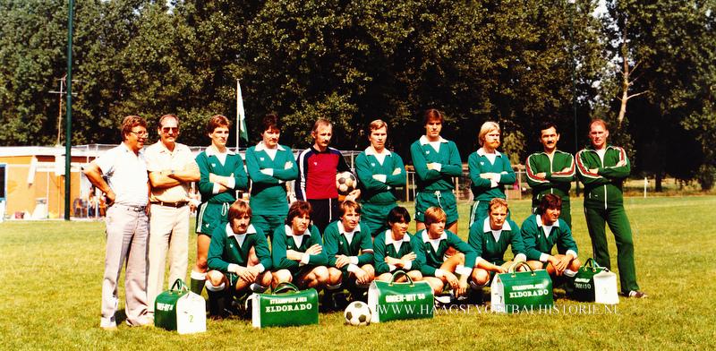 Groen Wit'58 1 1981-1982 - kopie