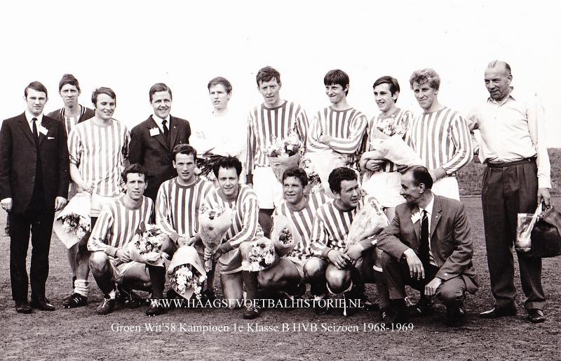 Groen Wit58 1 kampioen 1968-1969 - kopie