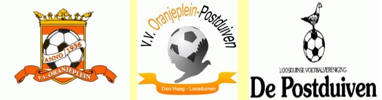 Oranjeplein en Postduiven logo