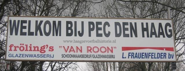 PEC Den Haag welkomsbord - kopie