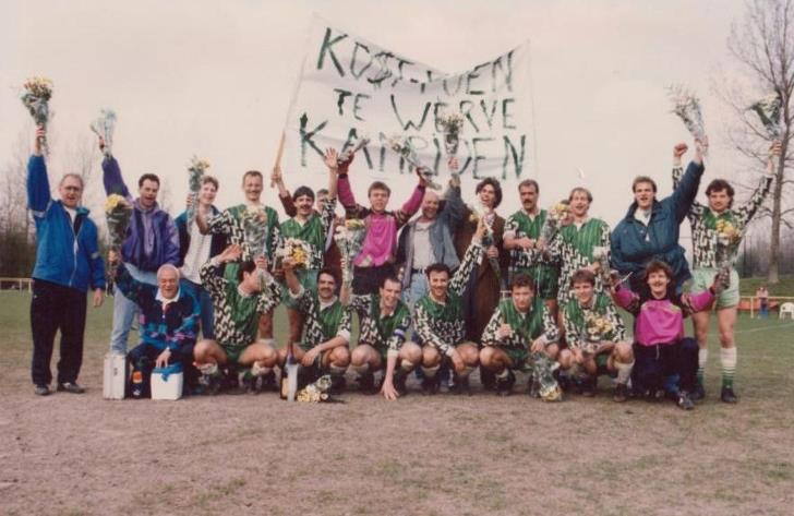Te Werve 1 kampioen 1992-1993