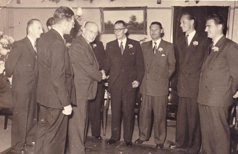 Voorburg bestuur 1953