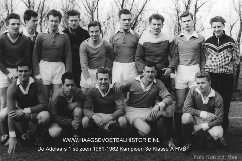 De Adelaars 1 kampioen 1961-1962