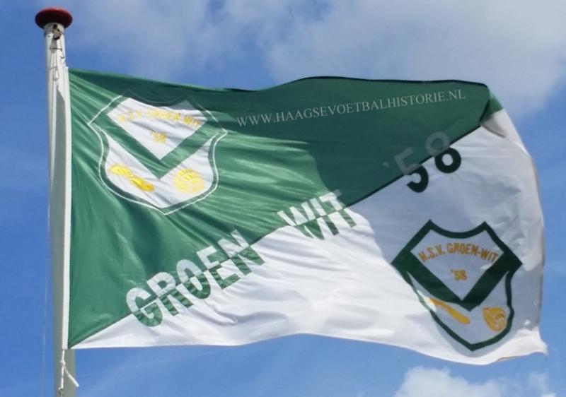Groen Wit 58 vlag - kopie-001