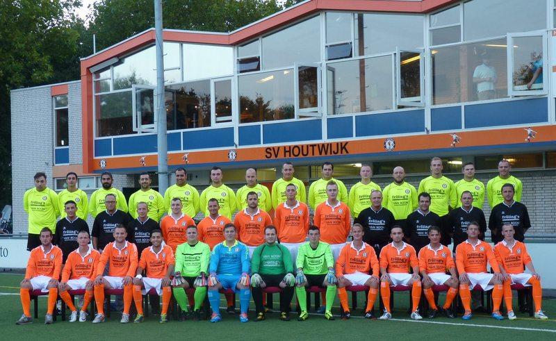 Houtwijk sv 1 seizoen 2014-2015