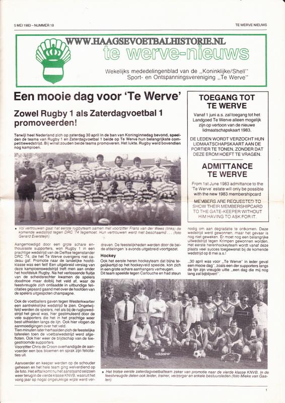 Te Werve Nieuws krantje - kopie