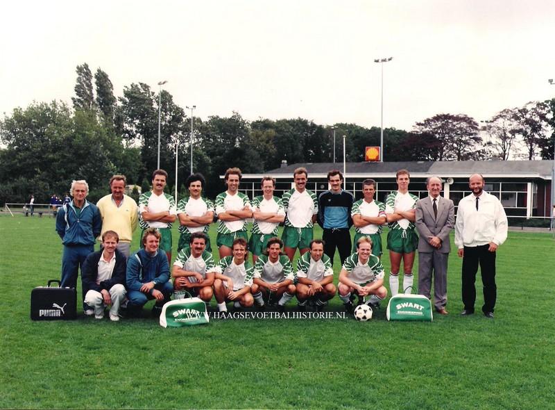 Te Werve elftalfoto 1987 -1988 001 - kopie