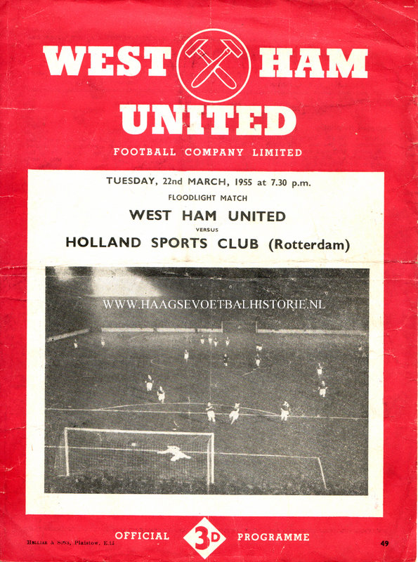 West Ham-Holland Sport - kopie